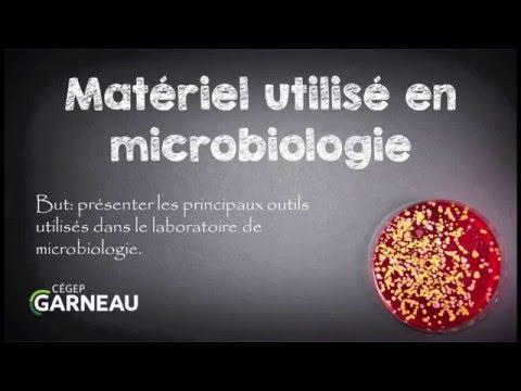 Présentation du matériel utilisé en microbiologie