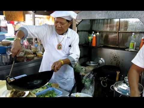 Fresh Pad Thai and Thai Noodles Phuket Thai street food market travel thailand