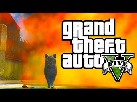 Video GTA 5 PC Mods - Cat in the Strip Club! [GTA V Funny Moments with Animal Mods] download in MP3, 3GP, MP4, WEBM, AVI, FLV January 2017