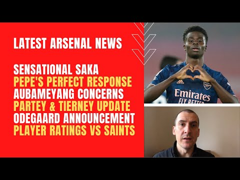 Latest Arsenal news: Sensational Saka, Pepe's response, Odegaard, Partey, Tierney and player ratings