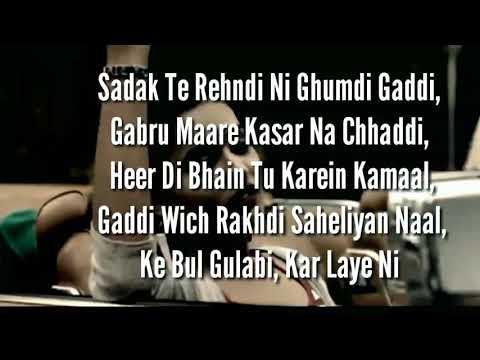 Nawabi lyrics | Expert Jatt Returns | Gima Ashi | New Punjabi song lyrics