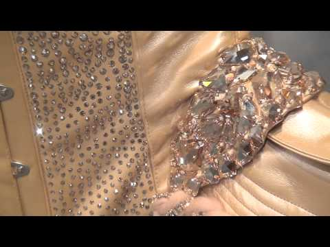 Crystal Corset by Maya Hansen made with SWAROVSKI ELEMENTS видео