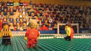 Video Champions League Final 2013  in LEGO (Borussia Dortmund v Bayern München) MP3, 3GP, MP4, WEBM, AVI, FLV Juni 2018