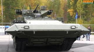 2. T-15 BMP Armata armoured infantry fighting vehicle technical data sheet details Russia Russian army