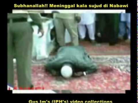 Subhanallah!!! Meninggal dunia saat sujud di Masjid Nabawi