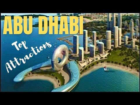 Beautiful Abu Dhabi Top 5 Attractions City Tour *HD*