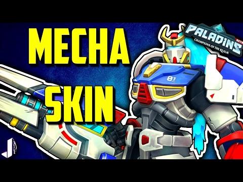 Mechanando Skin FN-01 Helios - Paladins OB46 (Giveaway)