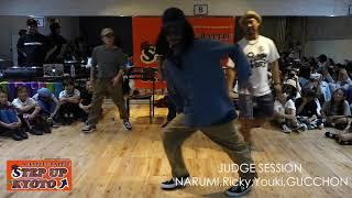 Narumi, Ricky, Youki, Gucchon – STEP UP KYOTO vol.3 JUDGE SESSION