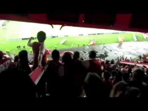 SANTA FE vs Tolima // Siempre alentando hasta el final. - La Guardia Albi Roja Sur - Independiente Santa Fe