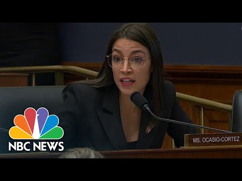AOC Grills Zuckerberg On Facebook Allowing Political Ads With False Information | NBC News