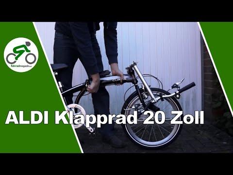 Aldi Klapprad 20 Zoll Aluminium