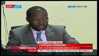 Happening Now: IEBC Commissioners face senators over spending caps