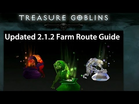 Patch 2.1.2 - Updated Goblin Farming Guide / Tips. Find Vaults & New Goblins!