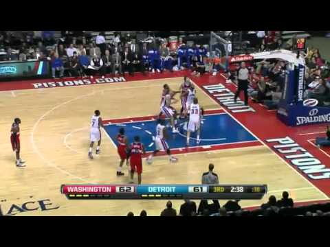 Wizards vs. Pistons Highlights - McGee & Young's 22 pts. Each