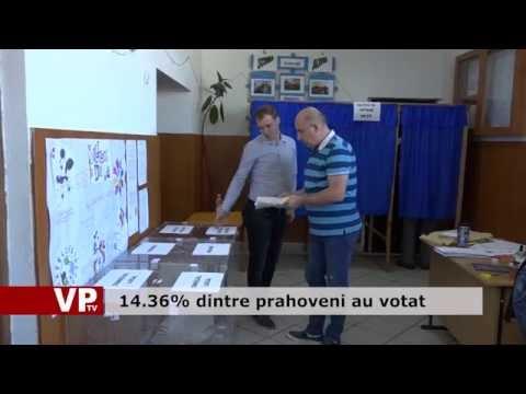 14.36% dintre prahoveni au votat