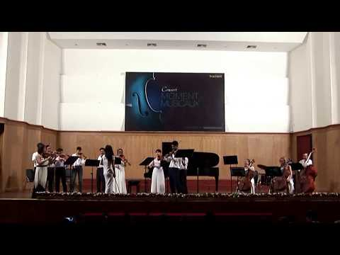 A Vivaldi Concerto duo violins A Minor
