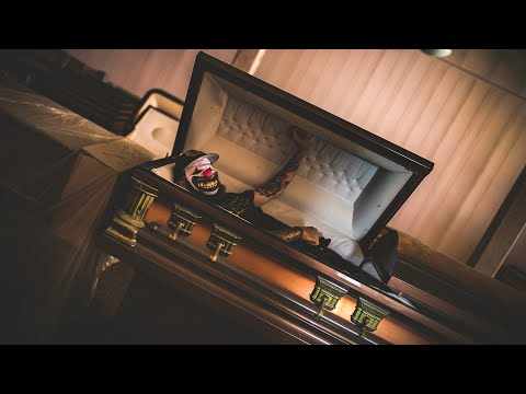 Abandoned Funeral Home in Florida with Caskets Left Behind