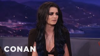"Video Paige: ""I've Had A Bruised Boob Or Two""  - CONAN on TBS MP3, 3GP, MP4, WEBM, AVI, FLV Maret 2018"
