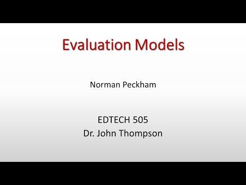 Evaluation Models Overview