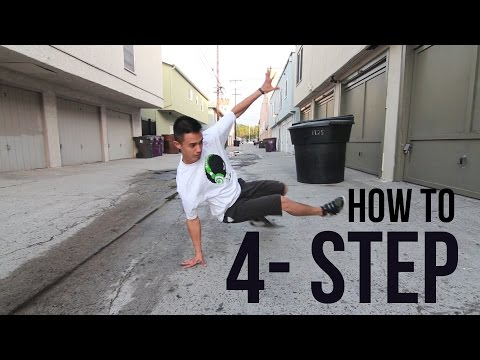 How to Breakdance | 4 Step | Footwork 101