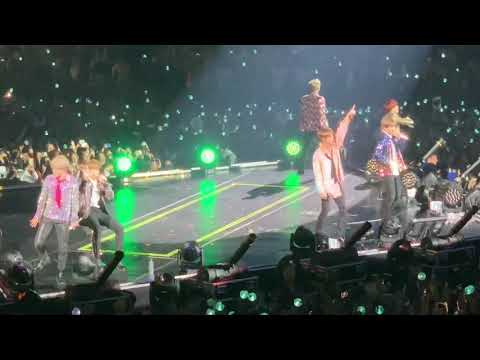 BTS DOPE, GO GO, BLOOD SWEAT & TEARS, BOY IN LUV, FIRE (London Day 2)
