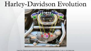 4. Harley-Davidson Evolution engine