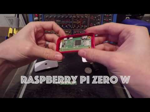 Raspberry Pi Zero W (wifi and bluetooth) Review