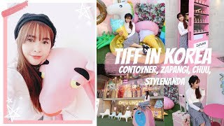 🇰🇷 TIFF GOES TO KOREA EP 11 I CONTOYNER, ZAPANGI CAFE, KAKAO, CHUU, STYLENANDA