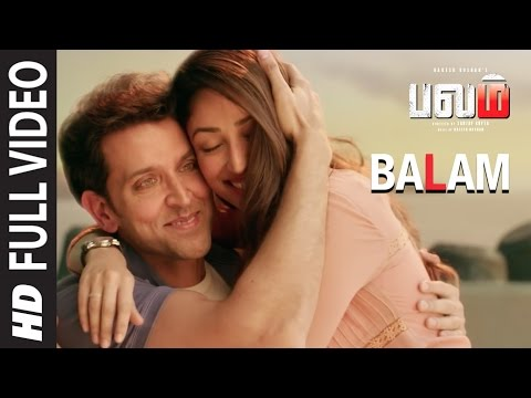 Balam Full Video Song || Kaabil Tamil || Hrithik Roshan,Yami Gautam || Santosh Hariharan