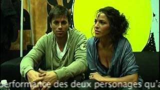 Interview Enrique Iglesias et Nadiya & sous-titres en Français