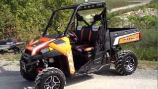 10. 2013 Polaris Ranger XP 900 LE in Orange Madness at Tommy's MotorSports