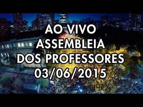 Assembleia dos Professores - 3 de Junho