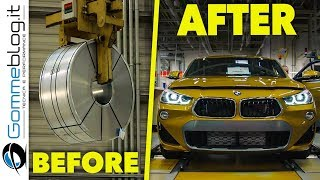 Video 2018 BMW X2 | CAR FACTORY PRODUCTION | How It's Made Car Manufactory MP3, 3GP, MP4, WEBM, AVI, FLV Januari 2019