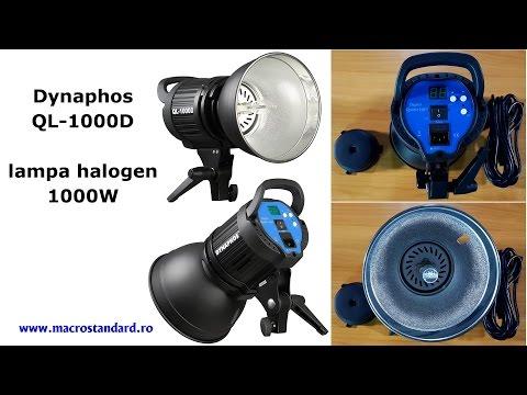 Lampa cu halogen Dynaphos QL-1000D