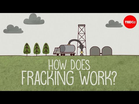 How does fracking work