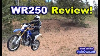 1. Yamaha WR250r REVIEW - Awesome! | Moto Vlog
