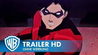 ► Warner Bros. präsentiert den deutschen #Trailer zum Film TEEN TITANS: DER JUDAS AUFTRAG. ► http://bit.ly/WarnerAbonnieren ► TEEN TITANS: DER JUDAS AUFTRAG - Jetzt als Blu-ray, DVD und Digital erhältlich! Abonniere den WARNER BROS. DE Kanal für aktuelle Kinotrailer.Unter Führung von Starfire haben die Teen Titans – Beast Boy, Raven, Blue Beetle, Robin und der soeben zurückgekehrte Nightwing – ein fest zusammengeschweißtes Team gebildet, um den Kampf gegen das Böse unermüdlich fortzusetzen. Doch das neueste Teammitglied, die ebenso geheimnisvolle wie mächtige Terra, könnte dieses Gleichgewicht aus den Angeln heben. Unterdessen ist ein uralter Bösewicht – Brother Blood – erwacht, und der bekannte Widersacher Deathstroke liegt im Dunkeln auf der Lauer – beide warten auf den richtigen Zeitpunkt, um zuzuschlagen.Folge #TeenTitans auf: ► Facebook: https://www.facebook.com/WarnerBrosDE► Twitter: https://twitter.com/warnerbrosde ► Instagram:https://instagram.com/warnerbrosde  ► Snapchat: warnerbrosde► Warner Bros. Pictures präsentiert:Titel: TEEN TITANS: DER JUDAS AUFTRAG (OT: Teen Titans: The Judas Contract)Film Release: Jetzt als Blu-ray, DVD und Digital!Genre: Animation► Gefällt euch der neue Trailer zu #TeenTitans? Dann hinterlasst einen Kommentar oder abonniert den Warner Bros. DE Kanal. ► http://bit.ly/WarnerAbonnierenEmpfohlener Filmtrailer:► Justice League vs. Teen Titans:https://www.youtube.com/watch?v=Tz0FwYSqoy4&list=UUR88edMaCp9veFK6PVXyYpQ