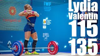 Video Lydia Valentin (75kg Spain) 115kg Snatch 135kg Clean and Jerk - 2018 European Champion MP3, 3GP, MP4, WEBM, AVI, FLV Agustus 2019