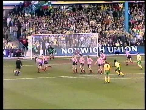 Sunderland v Norwich 1991-92 FA Cup Semifinal