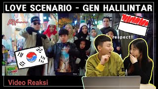 Video VIDEO TERKEREN!!ORANG KOREA REAKSI 'LOVE SCENARIO' - GEN HALILINTAR!!RESPECT INDONESIA MP3, 3GP, MP4, WEBM, AVI, FLV Mei 2019