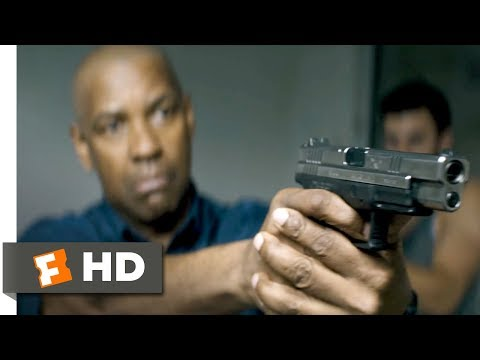 The Equalizer (2014) - Disrespect the Badge Scene (7/10) | Movieclips