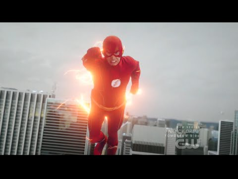 The Flash 6x01 Barry closes the Black Hole in Central City (+New Suit)