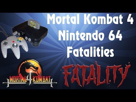mortal kombat 4 nintendo 64 finishing moves