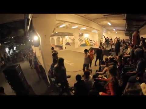 Cateva imagini scurte cu indoor skatepark-ul Fusion Arena.