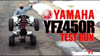 2. 2018 YFZ 450R Special Edition Test Run