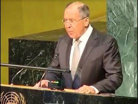 Выступление Лаврова на 72-й сессии Генеральной ассамблеи ООН, Нью-Йорк (видео)