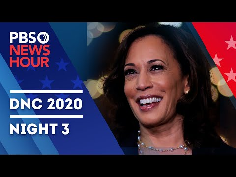 WATCH LIVE: 2020 Democratic National Convention | Night 3 Special Coverage & Analysis | PBS NewsHour
