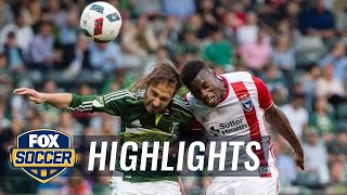 Portland Timbers vs. San Jose Earthquakes | 2016 MLS Highlights by FOX Soccer