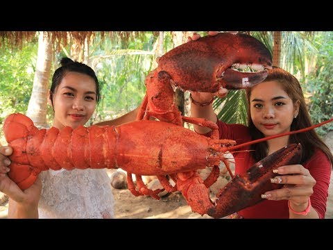 Yummy Cooking Giant Lobster Recipe - Cooking Skill