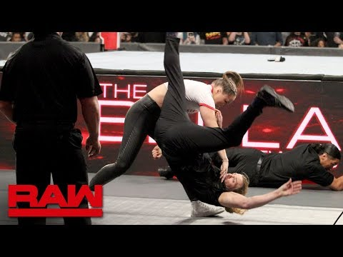 Ronda Rousey rips into The Bellas before destroying their private security: Raw, Oct. 15, 2018_Legjobb videók: Sport